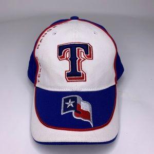 Texas Rangers Texas Flag Logo MLB Baseball Hat Cap